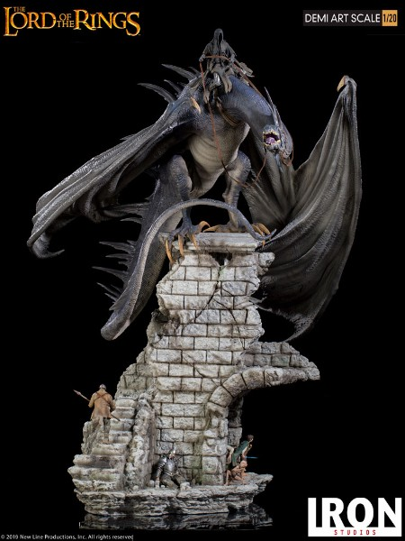 Preorder Iron Studios The Lord of the Rings Fellbeast Diorama